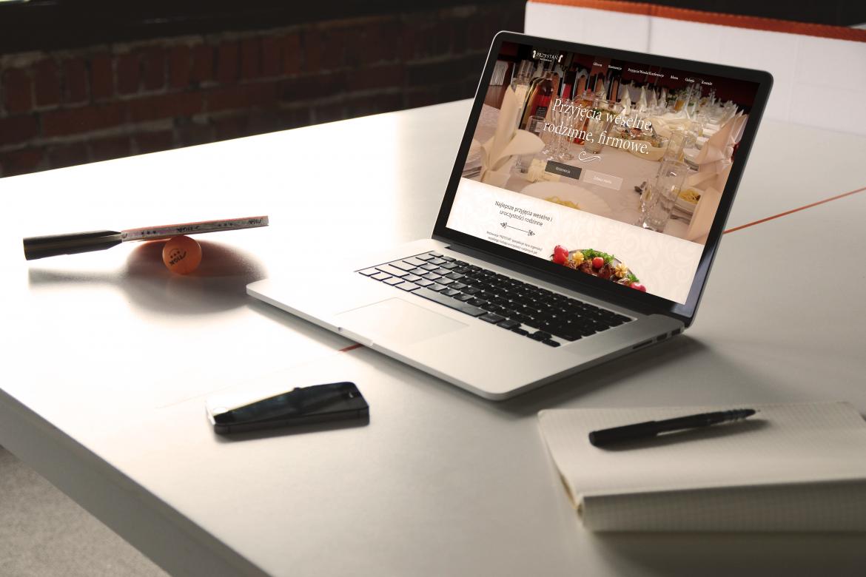Portfolio - projekt strony dla restauracji