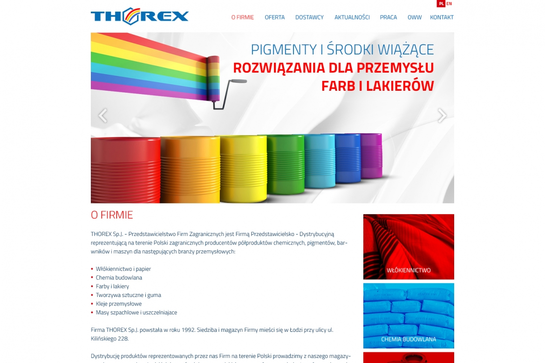strona internetowa thorex