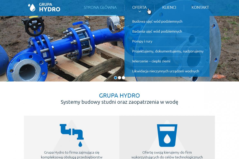 grupahydro.pl - projekt strony